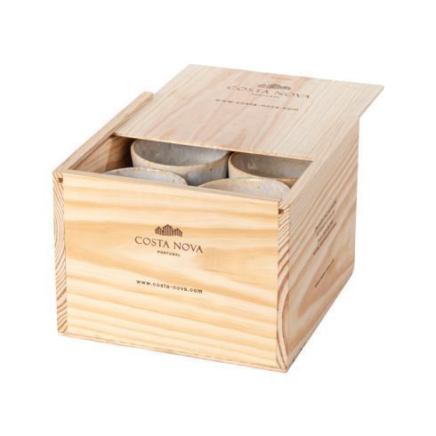 $159.00 Gift Box Set 8 Lungo Cups (White)
