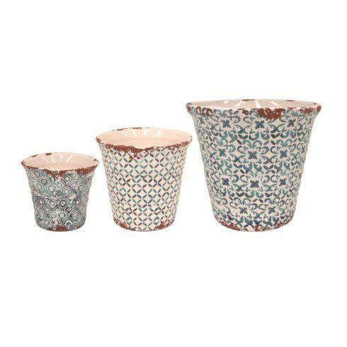 Set/3 Flowerpots