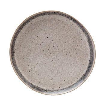 Dinner Plate, Grey Band