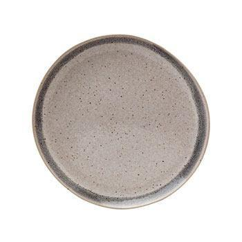 Salad Plate, Grey Band