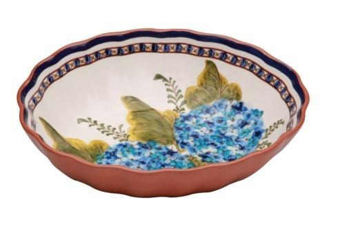 Oval Scalloped Bowl