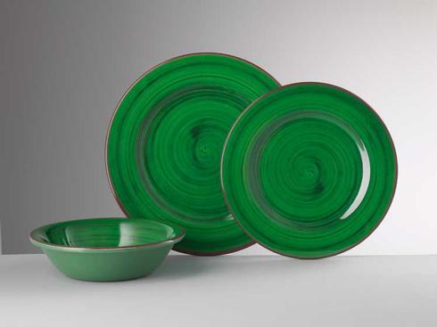 Dinnerware - St. Tropez Green collection with 4 products