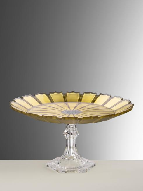 $110.00 Gold Cake Plate