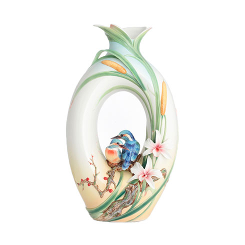 Vase, Kingfisher (LE)