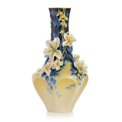 Vase, Hong Kong orchid (LE)