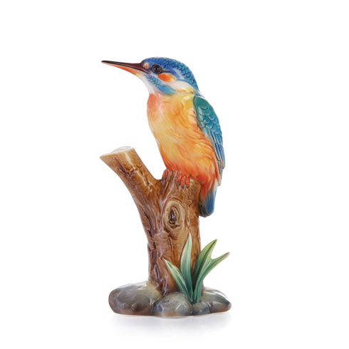$198.00 Vase, Kingfisher small