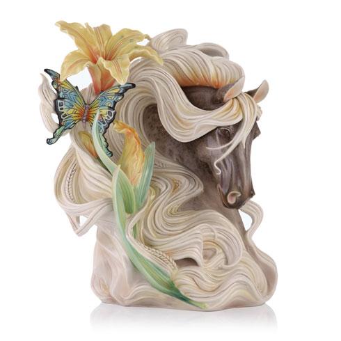 $2,156.00 Vase, Paean Horse (LE 988)