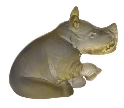 $203.00 Amber grey rhinoceros
