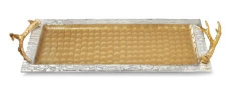 "$395.00 Antler 30"" Tray Toffee"