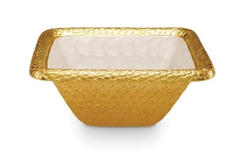"$199.00 10"" Square Bowl Snow"