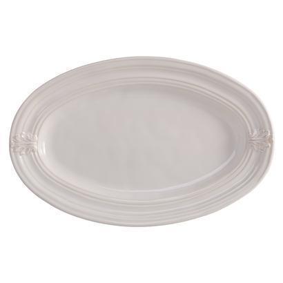 "$68.00 Whitewash 16"" Platter"