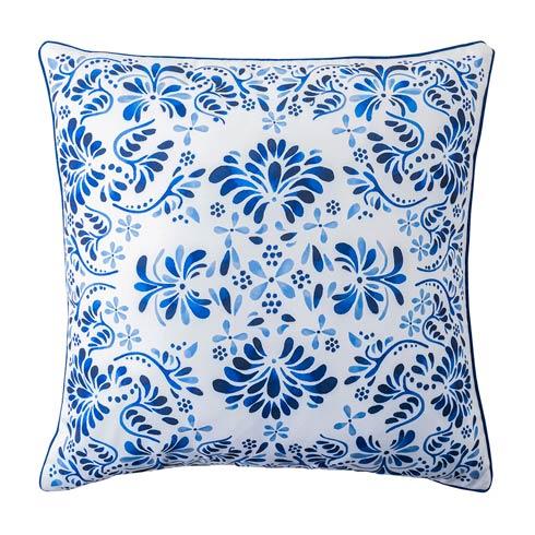 "$98.00 Iberian Journey Indigo 22"" Pillow"