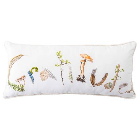 """$125.00 Forest Walk Gratitude 12"""" x 27"""" Pillow"""