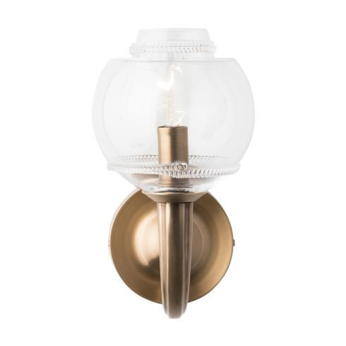 Dean Double Shade on Paris Sconce in Brass