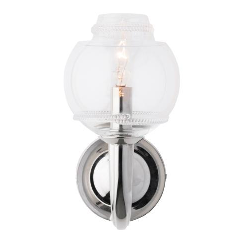 $485.00 Dean Double Shade on Paris Sconce in Nickel