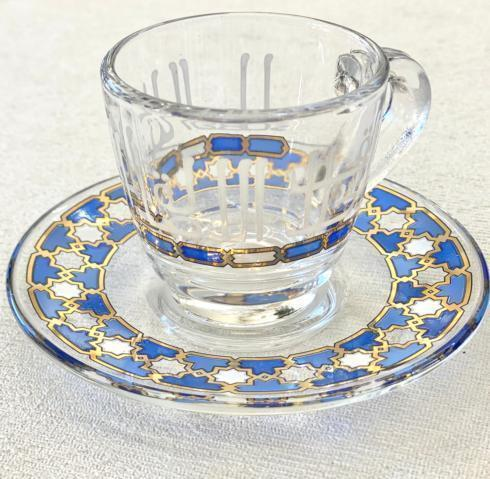 $89.00 Dimlaj Asala 6 Piece Coffee cup and saucer set
