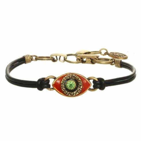 $45.00 Small red evil eye bracelet