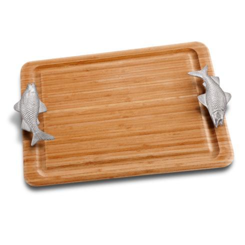 Fish Handle Carving Board