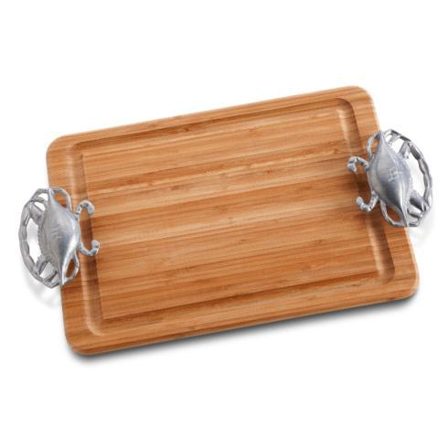 Crab Handle Carving Board