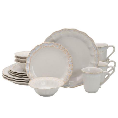 Mila 16PC Dinnerware Set, Service for 4