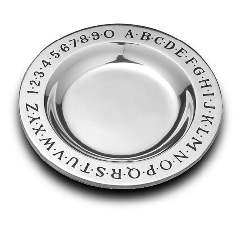 Alphabet Plate collection with 1 products