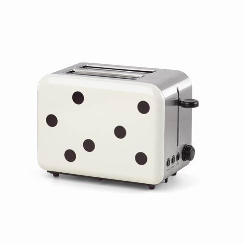 $60.00 Deco Dot 2-slice Toaster