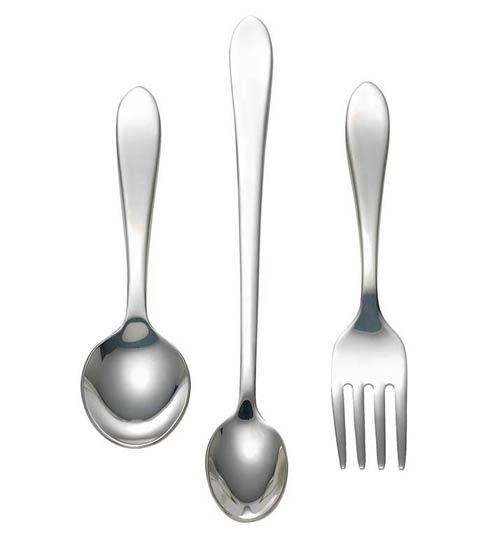 $45.00 Master Stainless 3-Piece Baby Set