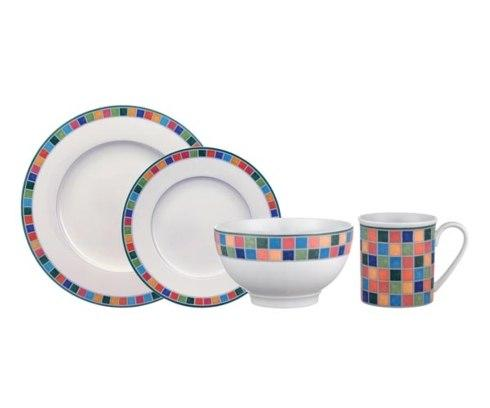 $62.00 Caro and Limone: 4 Piece Place Setting