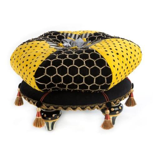 $595.00 Honeycomb Footstool