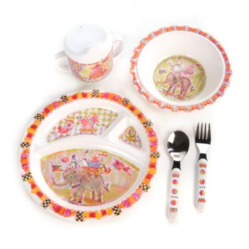 $48.00 Animal Parade Toddler\'s Dinnerware Set