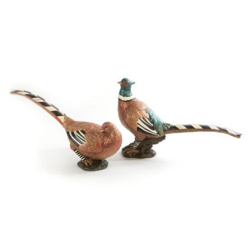 $175.00 Autumn Pheasants - Set Of 2