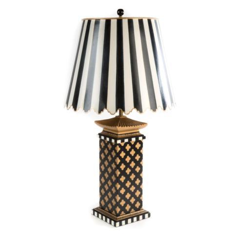 $295.00 Quatrefoil Table Lamp - Large