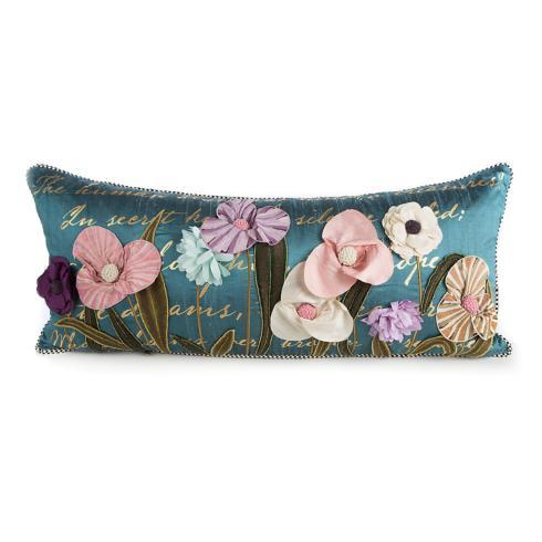 $295.00 Bronte\'s Poetry Lumbar Pillow