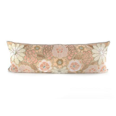$175.00 Flower Lumbar Pillow