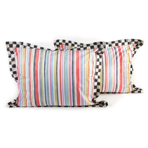$150.00 Chelsea Stripe Standard Shams - Set of 2