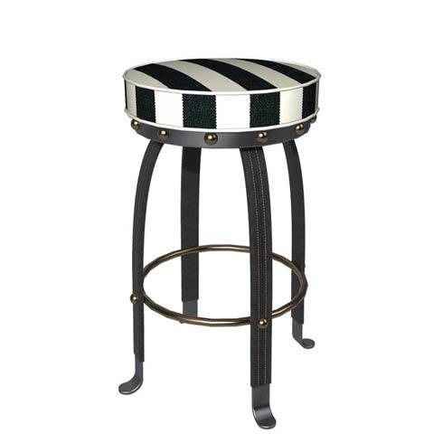 $995.00 Flatiron Bar Stool - Black