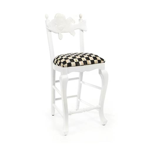 $1,495.00 Outdoor Fish Bar Stool - Courtly Check