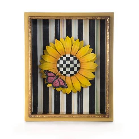 $150.00 Sunflower Shadow Box