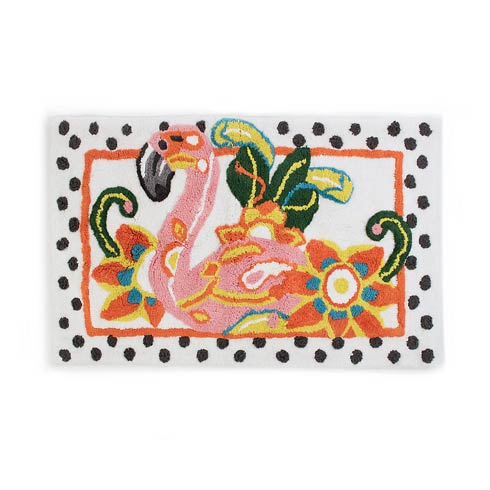 $100.00 Flamingo Standard Bath Rug