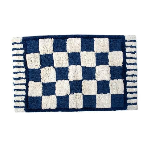 $80.00 Royal Check Standard Bath Rug