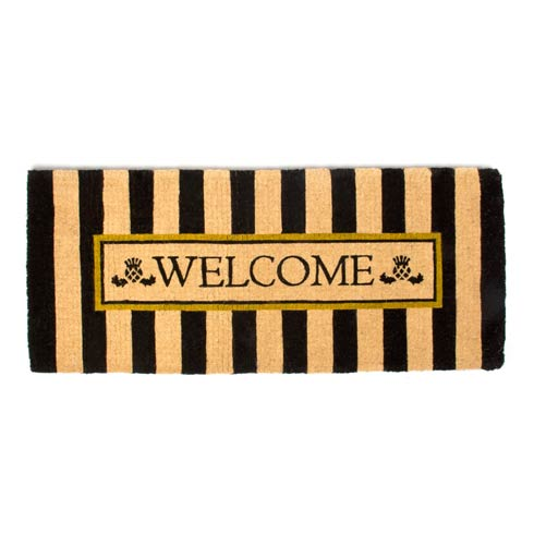 $180.00 Awning Stripe Double Door Welcome Mat