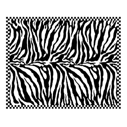 $1,595.00 Zebra Rug - 8\' x 10\'