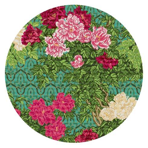 $995.00 Gabrielle\'s Garden Rug - 6\' Round