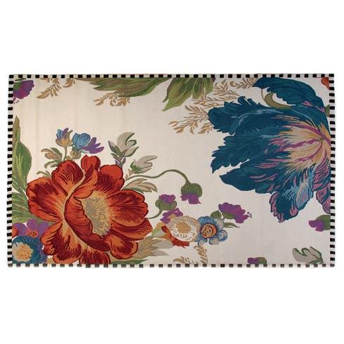 $1,595.00 Flower Market Reflections Rug - 8\' x 10\' - Ivory