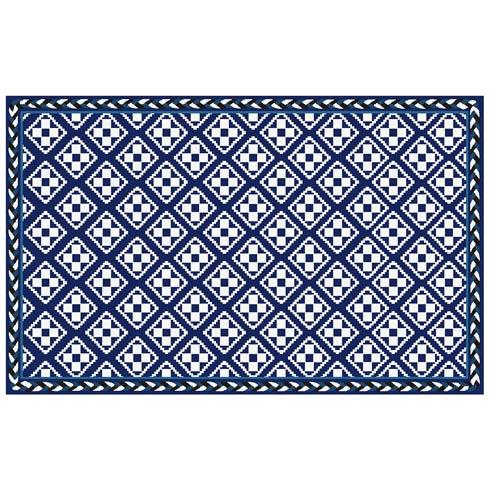 $825.00 Courtyard Indoor/Outdoor Rug - 5\' x 8\' - Royal