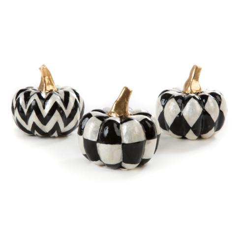 $58.00 Capiz Pumpkins - Set Of 3