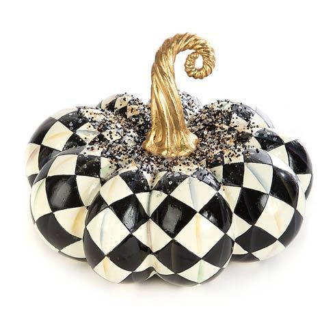 $125.00 Beaded Harlequin Squashed Pumpkin