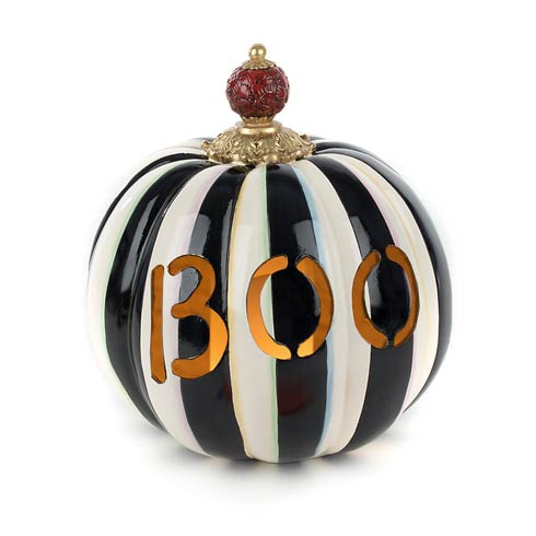 $150.00 Boo Illuminated Pumpkin