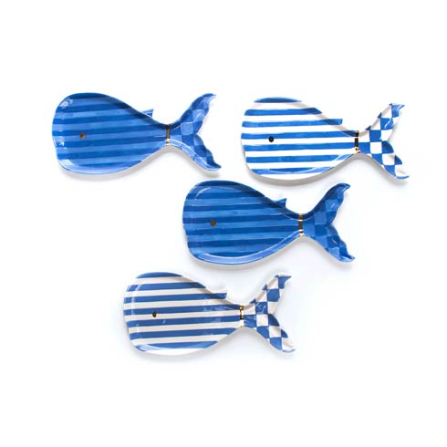 $125.00 Big Blue Small Plates - Set of 4