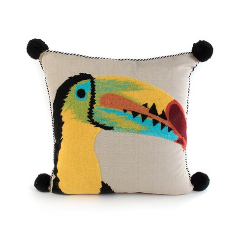 $150.00 Toucan Outdoor Accent Pillow